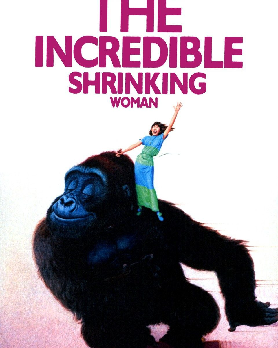 The Incredible Shrinking Woman movie Poster