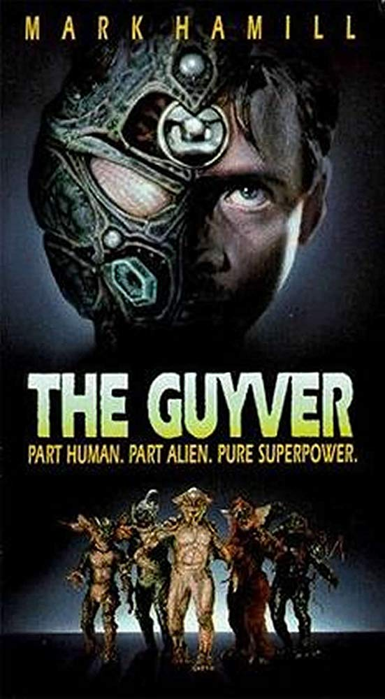 The Guyver movie poster